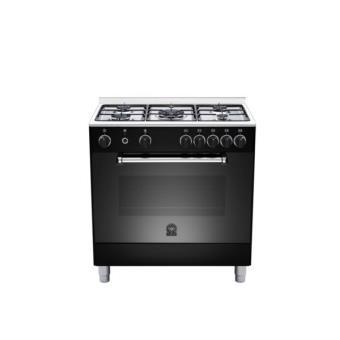 Piano de cuisson bertazonni germani am85c21dn noir achat prix fnac - Piano de cuisson noir ...