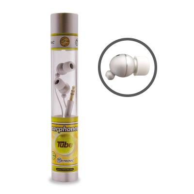 Metronic 480112 Casque Tube 3,5 mm Silver Couleur : blanc