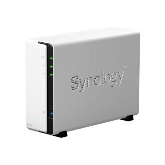 Comparer SYNOLOGY DISKSTATION DS112 BLANC NU