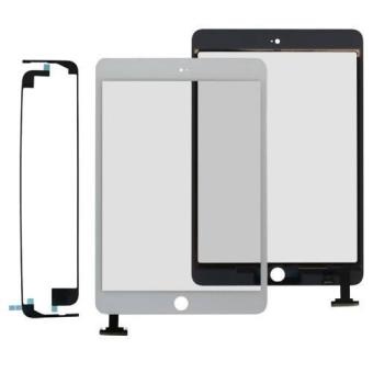 ecran vitre tactile blanc colle adh sif pour apple ipad mini achat prix fnac. Black Bedroom Furniture Sets. Home Design Ideas