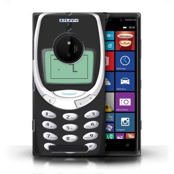 coque de stuff4 coque etui housse pour nokia lumia 830 nokia 3310 noir design portables. Black Bedroom Furniture Sets. Home Design Ideas