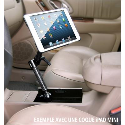 Support fix. porte gobelet auto pour ipad air 2