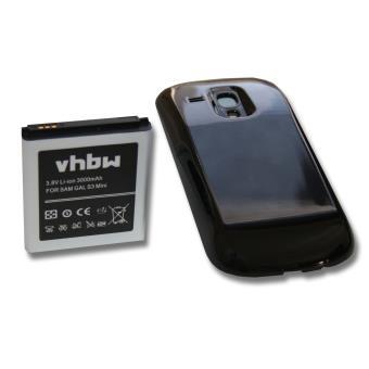 mp Batterie longue duree LI ION mAh pour SAMSUNG Galaxy S  Mini III mini SIII GT I remplace EB FIMFLU w