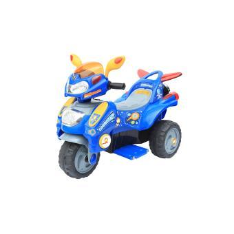 moto lectrique 6v 3 roues pour enfant bleue achat. Black Bedroom Furniture Sets. Home Design Ideas