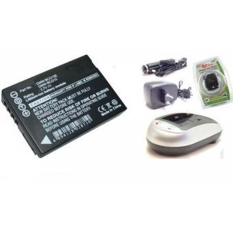 batterie compatible et chargeur appareil photo pour. Black Bedroom Furniture Sets. Home Design Ideas
