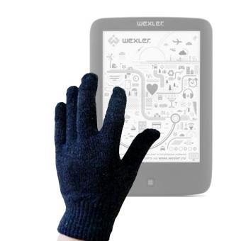 Paire de gants capacitifs (moyen) pour ebook WEXLER Book E6005, E6007
