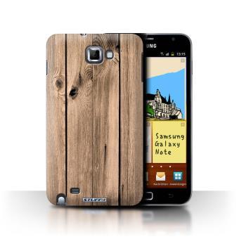 Galaxy Note/N7000 / Planche Design / Motif Grain de Bois Collection