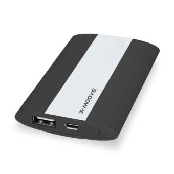 x moove powergo mini batterie externe 3000 mah noir achat prix fnac. Black Bedroom Furniture Sets. Home Design Ideas