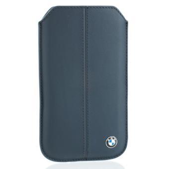 etui en cuir bleu bmw pour blackberry z10 achat prix. Black Bedroom Furniture Sets. Home Design Ideas