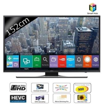 samsung ue60ju6400 smart tv led uhd 4k 152cm achat prix fnac. Black Bedroom Furniture Sets. Home Design Ideas