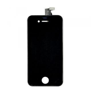 ecran iphone 4s noir lcd vitre tactile sur chassis achat prix fnac. Black Bedroom Furniture Sets. Home Design Ideas