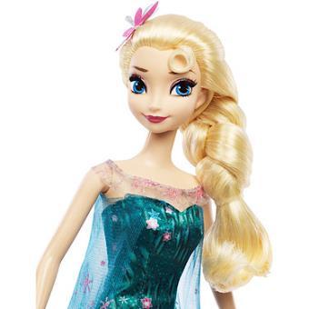 mattel disney la reine des neiges une fte givre elsa fete danniversaire poupe mannequin achat prix fnac