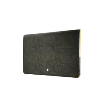 tui macbook air 13 cuir v ritable jison noir achat prix fnac. Black Bedroom Furniture Sets. Home Design Ideas