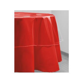nappe ronde transparente d 180 cm cristal achat prix. Black Bedroom Furniture Sets. Home Design Ideas