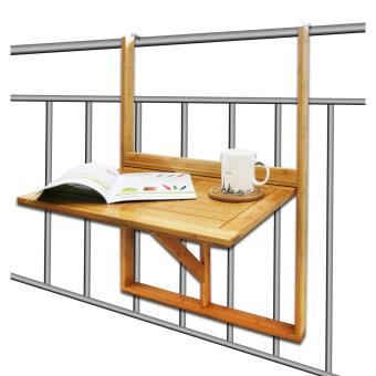 Tag re pour balcon tablette pliante en bambou achat prix fnac for Console pliante pour tablette rabattable