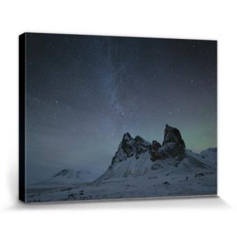 Montagnes poster reproduction sur toile tendue sur for Prix toile tendue