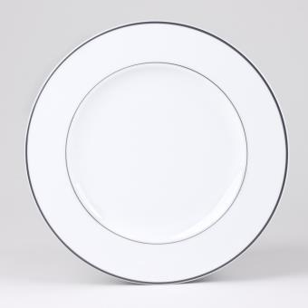 table passion assiette plate 27cm filet gris lot de 6 achat prix fnac. Black Bedroom Furniture Sets. Home Design Ideas
