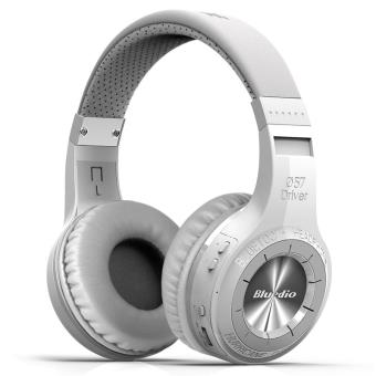 ebook casque audio bluetooth bluedio hurricane turbine blanc casque