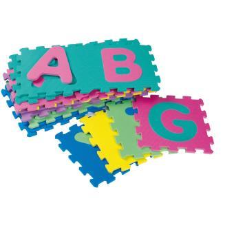 Tapis de sol puzzle en mousse 26 dalles alphabet 32x32 cm achat prix - Tapis puzzle en mousse ...