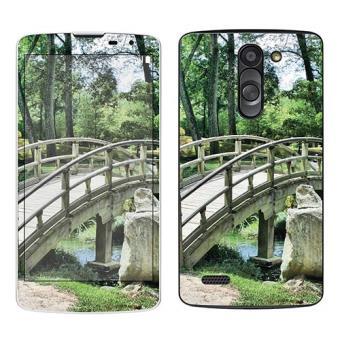 Skin stickers pour lg l bello sticker pont jardin for Achat jardin japonais
