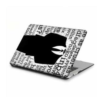 coque rigide macbook pro ecran retina 13 pouces anonymous lettre b achat prix fnac. Black Bedroom Furniture Sets. Home Design Ideas