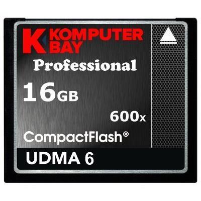 Cette Komputerbay 16Go carte mémoire Compact Flash vous permet de télécharger et de stocker un grand nombre de photos, musique, vidéos, et autres fichiers multimédias sur votre carte Compact Flash compatible dispositif électronique. La carte peut être uti