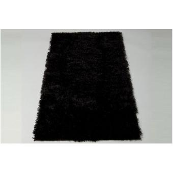 tapis poils shaggy tendance noir 160x230 cm achat prix fnac. Black Bedroom Furniture Sets. Home Design Ideas