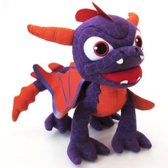 skylanders giants talking plush spyro peluche. Black Bedroom Furniture Sets. Home Design Ideas