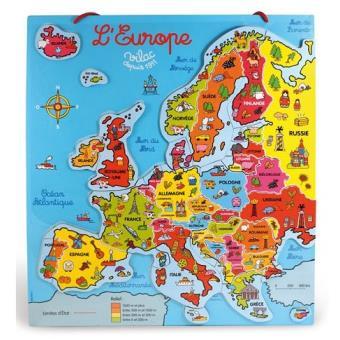 VILAC - Carte d'europe magnétique