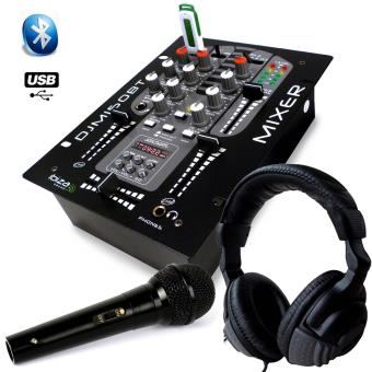 casque audio table de mixage usb bluetooth 2 voies 5 canaux djm 150 usb bt micro dynalique. Black Bedroom Furniture Sets. Home Design Ideas