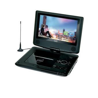 lecteur dvd portable cran 9 antenne tnt usb noir achat prix fnac. Black Bedroom Furniture Sets. Home Design Ideas
