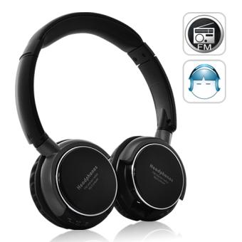 casque sans fil bluetooth lecteur mp3 et radio fm achat prix fnac. Black Bedroom Furniture Sets. Home Design Ideas