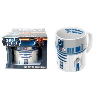 mug r2d2 2d star wars cadeau geek achat prix fnac. Black Bedroom Furniture Sets. Home Design Ideas