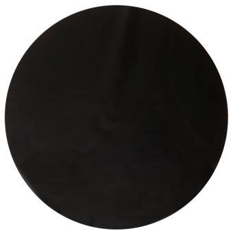 6 sets de table rond noir taille unique achat prix fnac for Set de table rond noir