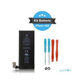kit reparation batterie iphone 4s achat prix fnac. Black Bedroom Furniture Sets. Home Design Ideas