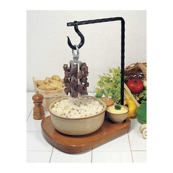potence viande masselotte cuisine 20cm bron coucke