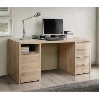 calpe bureau 160 x 73 cm chene achat prix fnac. Black Bedroom Furniture Sets. Home Design Ideas