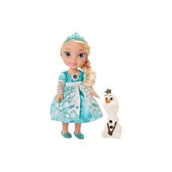 Disney la reine des neiges snow glow elsa poup e - Reine des neiges en anglais ...