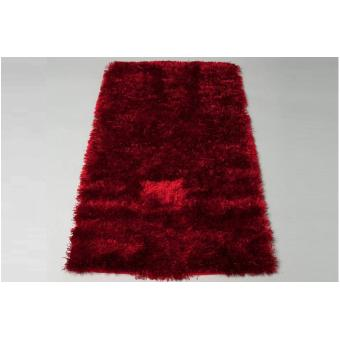 tapis poils shaggy tendance rouge 120x170 cm achat prix fnac. Black Bedroom Furniture Sets. Home Design Ideas