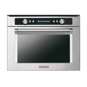 micro ondes combin encastrable kitchenaid kmqcx45600 inox achat prix fnac. Black Bedroom Furniture Sets. Home Design Ideas