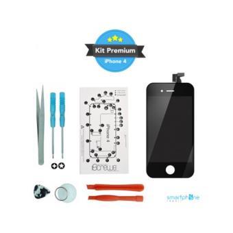 kit premium reparation ecran iphone 4 noir achat prix fnac. Black Bedroom Furniture Sets. Home Design Ideas