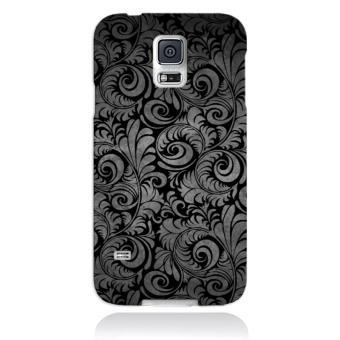 coque galaxy s5 mini papier peint fleurs noires achat prix fnac. Black Bedroom Furniture Sets. Home Design Ideas