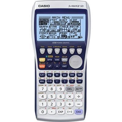 Casio europe gmbh fx-9860gii sd calculatrice graphique avec affichage de type écriture naturelle et