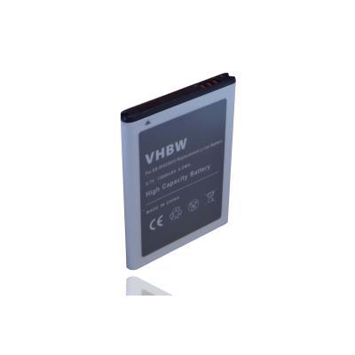 mp vhbw Batterie mAh  V pour smartphone Samsung GT S Si remplace EBVU w