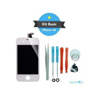 kit reparation ecran iphone 4 blanc achat prix fnac. Black Bedroom Furniture Sets. Home Design Ideas
