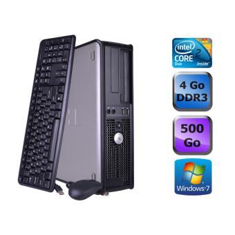 unit centrale dell optiplex 755 desktop gris intel core 2 duo e4500 2 2 ghz ram 4 go. Black Bedroom Furniture Sets. Home Design Ideas