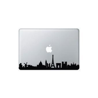 stickers macbook ville macbook air 13 pouces argent achat prix fnac. Black Bedroom Furniture Sets. Home Design Ideas