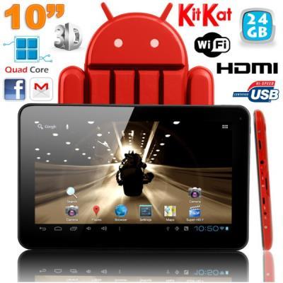 Cette tablette tactile 10 pouces offre non seulement une mobilité optimale sans pour autant négliger une fluidité et une utilisation optimale à l´aide d´un écran XXL. Avec son superbe écran de 9 pouces (rendu Full HD 1080p) ainsi que son processeur Quad C