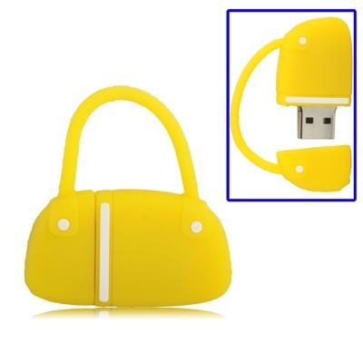 Handbag Style USB Clé Clef USB, 8GB (jaune)