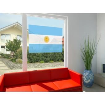 Argentine film adh sif fen tres autocollant drapeau pour for Adhesif pour fenetre